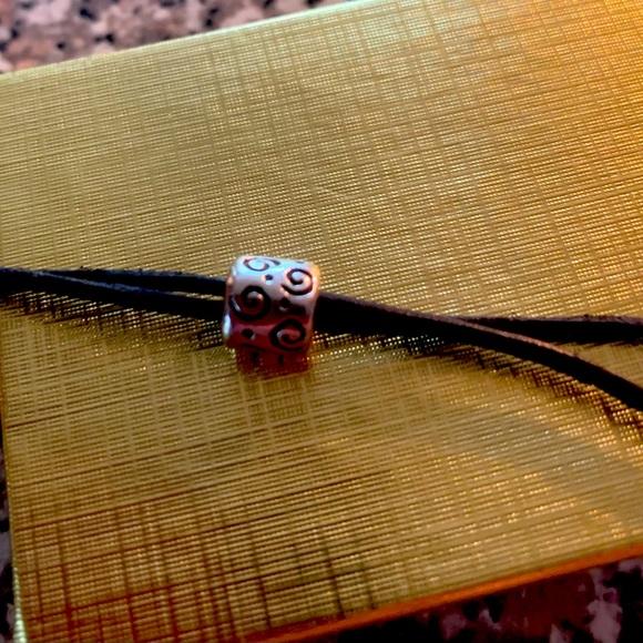 Authentic Pandora bead swirl